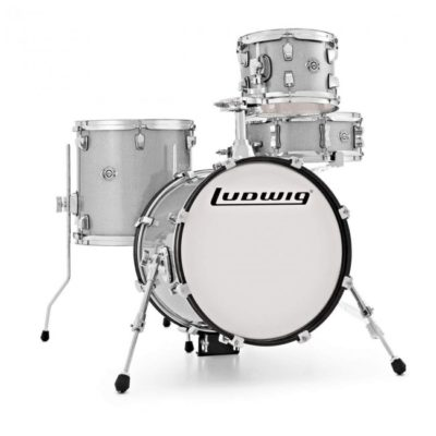 Ludwig Breakbeats white sparkle drumland68